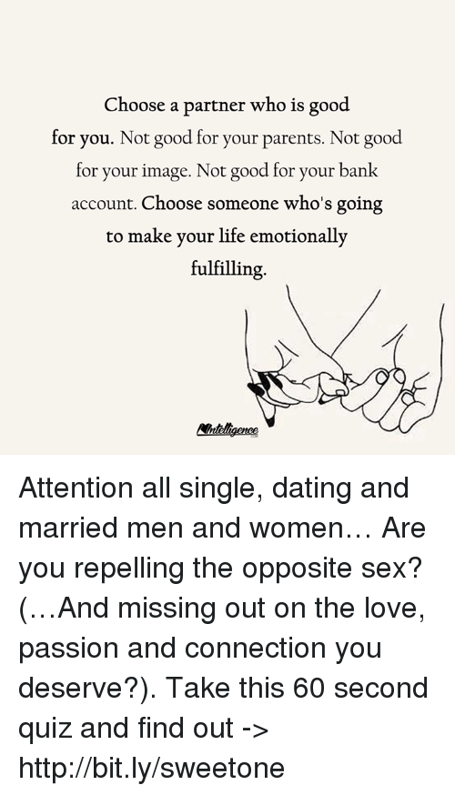 Dating Someone Whos Still Married??