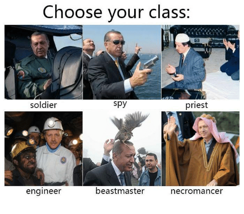 Dank, Soldiers, and Engineering: Choose your class:  spy  soldier  priest  beastmaster  engineer  necromancer