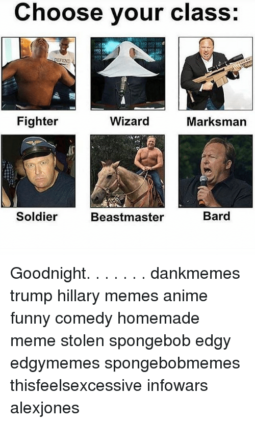 choose your class wizard fighter marksman soldier bard beastmaster goodnight 7014611 choose your class wizard fighter marksman soldier bard beastmaster