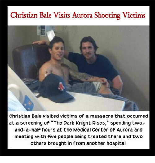 Christian Bale Visits Aurora Shooting Victims Christian