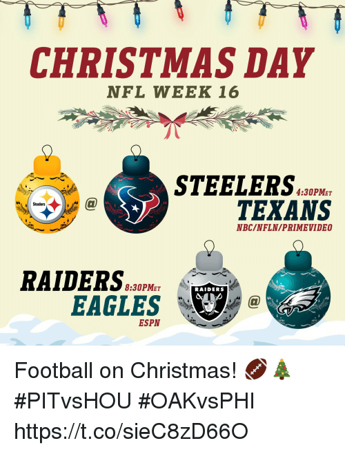 christmas philadelphia eagles and espn christmas day nfl week 16 steelers 4 - Nfl Schedule Christmas Day