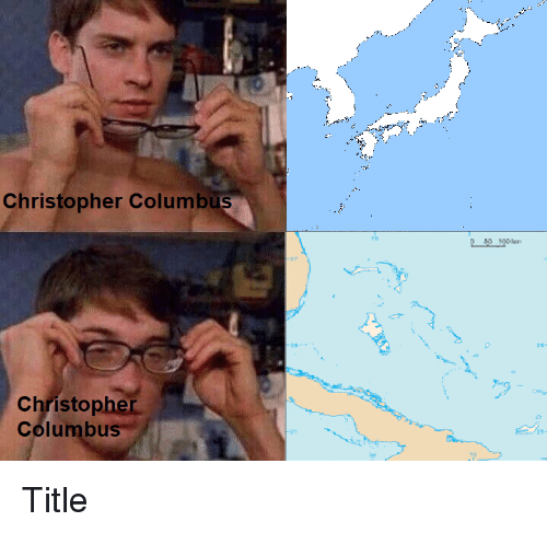 christopher columbus title