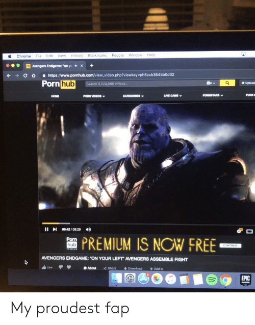 Chrome File Edit View History Bookmarks People Window Help Avengers
