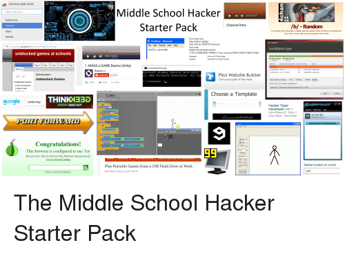 Chrome Web Store Middle School Hacker 012017 Extensions