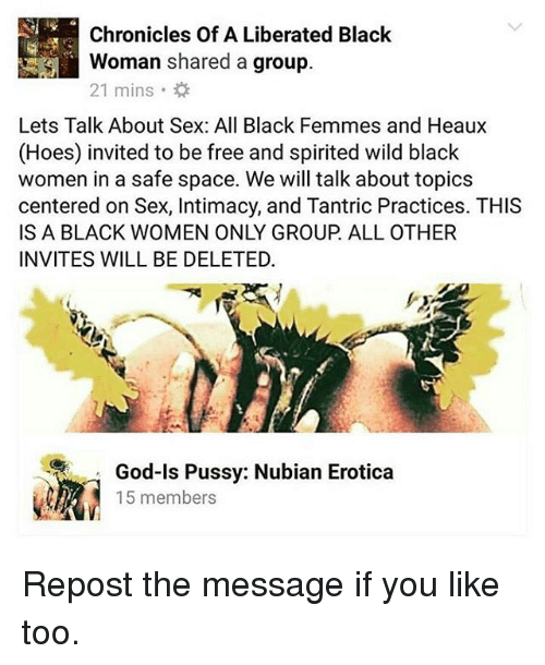 black hoes sex