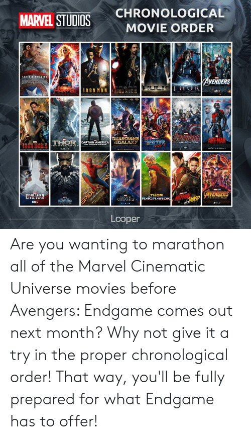 Marvel Cinematic Universe Marvel Movie Marathon Order Marvel Cinematic Universe