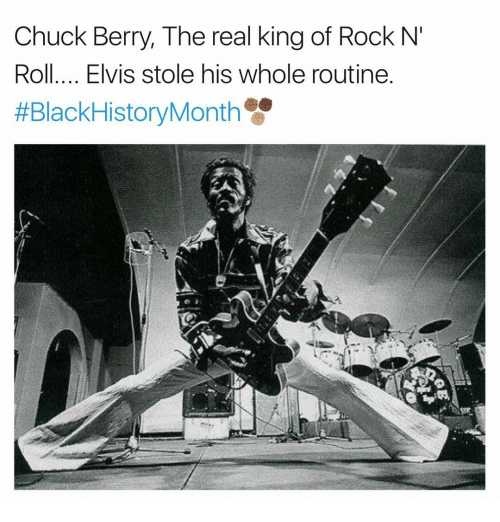 chuck berry the real king of rock n roll elvis 13918870 chuck berry the real king of rock n' roll elvis stole his whole
