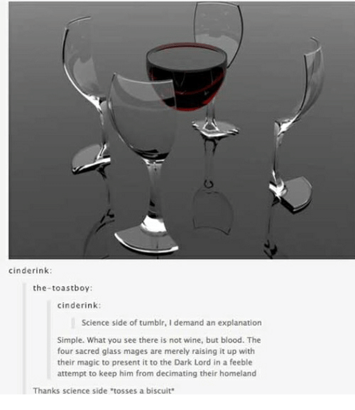 Tumblr Wine And Homeland Cinderink The Toastboy Science