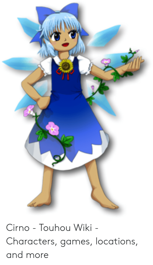 Cirno - Touhou Wiki - Characters Games Locations and More | Games
