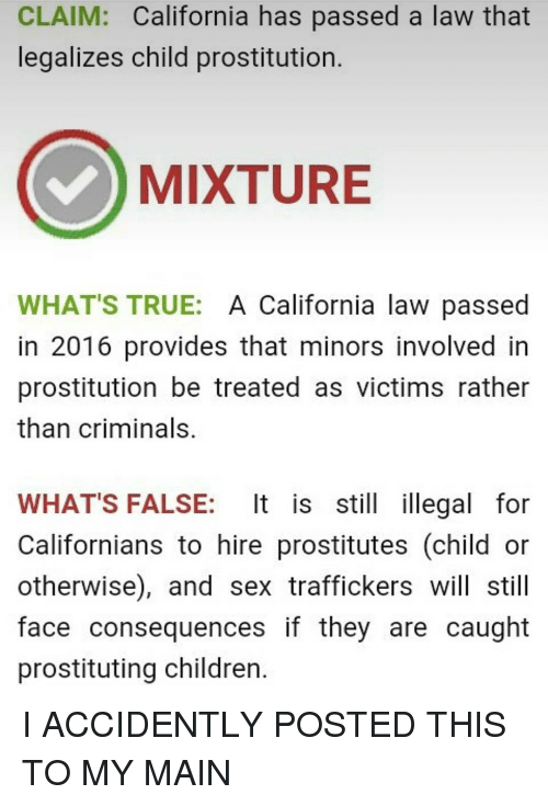 consequences of dating a minor in california
