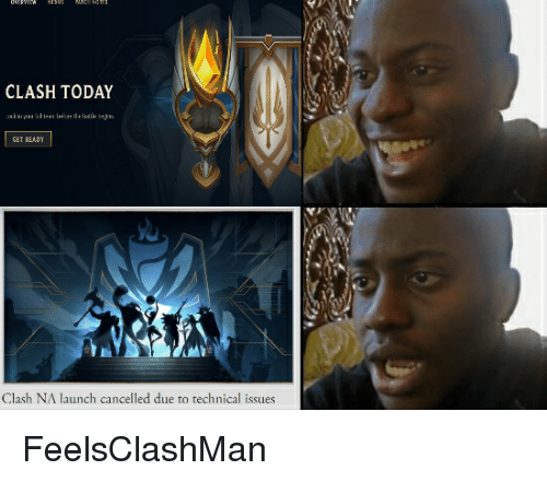 CLASH TODAY GET EADY Clash NA Launch Cancelled Due to