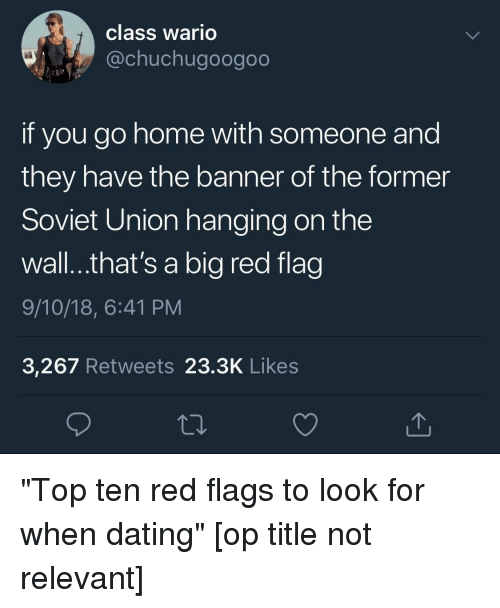 flags dating sims