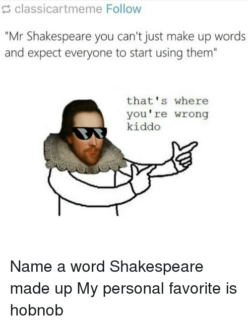 Making Up Words