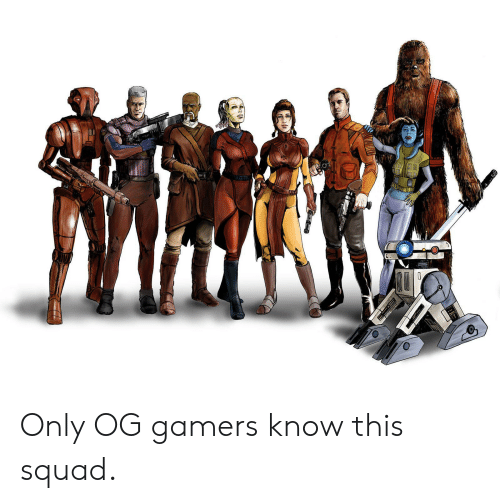 CLE Only OG Gamers Know This Squad | Squad Meme on ME ME