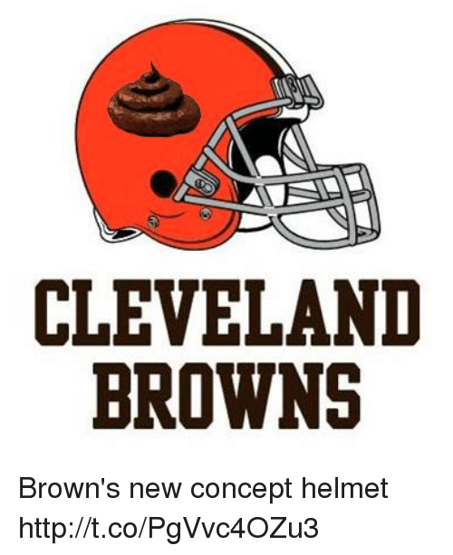 Httptcopgvvc4ozu3 Browns On New Concept Me Meme Helmet Brown's Cleveland me