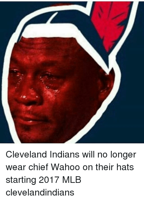cleveland indians will no longer wear chief wahoo on their 9558483 ✅ 25 best memes about fox meme fox memes,Cleveland Indians Meme