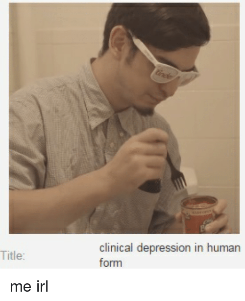 ✅ 25+ Best Memes About Clinical Depression | Clinical Depression ...