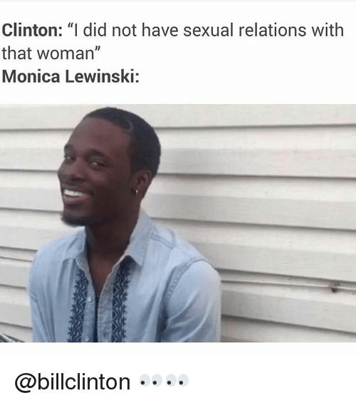 image I did not have sexual relations with that woman