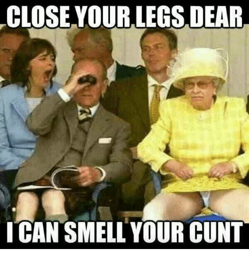 Smell of a cunt