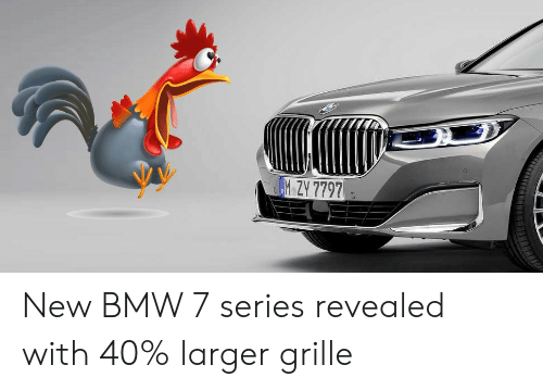 2020 Bmw 7 Series Facelift Gets Pig Nose Face Thanks To X7