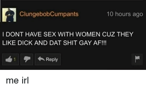 Dick that have not have sex