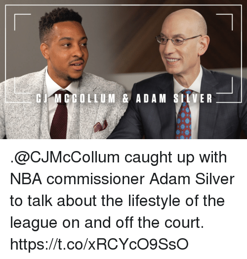 Sizzle: CMCCOLLUM & ADAM SIIVER .@CJMcCollum caught up with NBA commissioner Adam Silver to talk about the lifestyle of the league on and off the court. https://t.co/xRCYcO9SsO