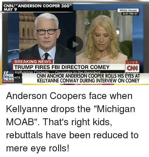 cnn anderson cooper 360 may 9 white house 8 47 pm et 20068437 ✅ 25 best memes about anderson cooper 360 anderson cooper 360