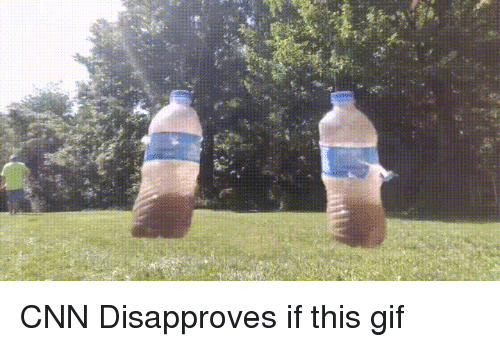 cnn.com, Gif, and Arrow: CNN Disapproves if this gif