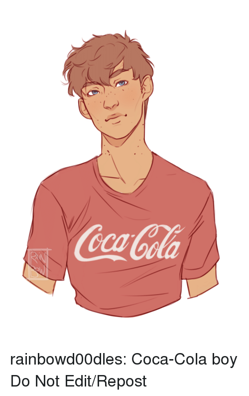 Coca-Cola, Target, and Tumblr: Cocal  oCola rainbowd00dles: Coca-Cola boy Do Not Edit/Repost