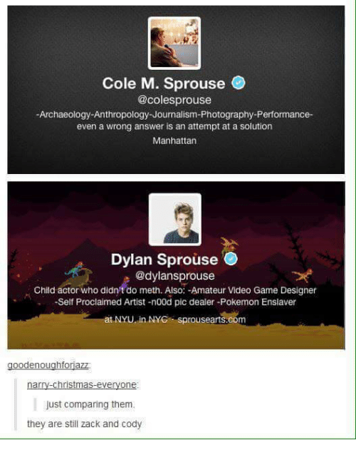 Cole M Sprouse