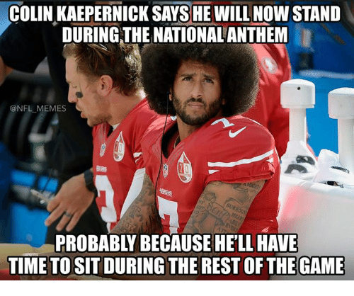 colin kaepernick sayshe will now stand during the national anthem 15483489 colin kaepernick sayshe will now stand during the national anthem