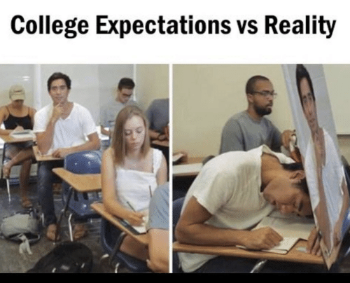 College, Reality, and  Expectations vs Reality: College Expectations vs Reality