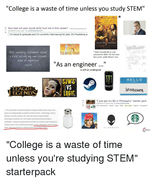25+ Best Memes About STEM And Starter Packs