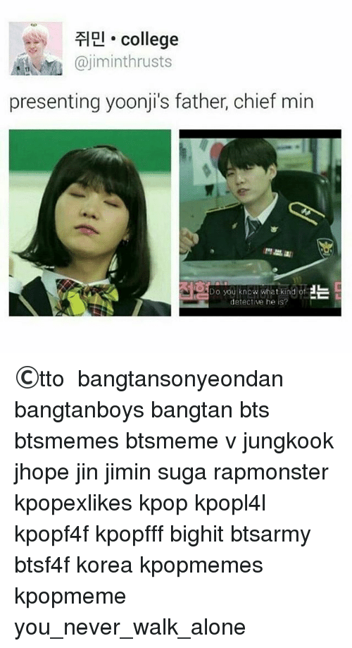 College Presenting Yoonji's Father Chief Min Do You Know
