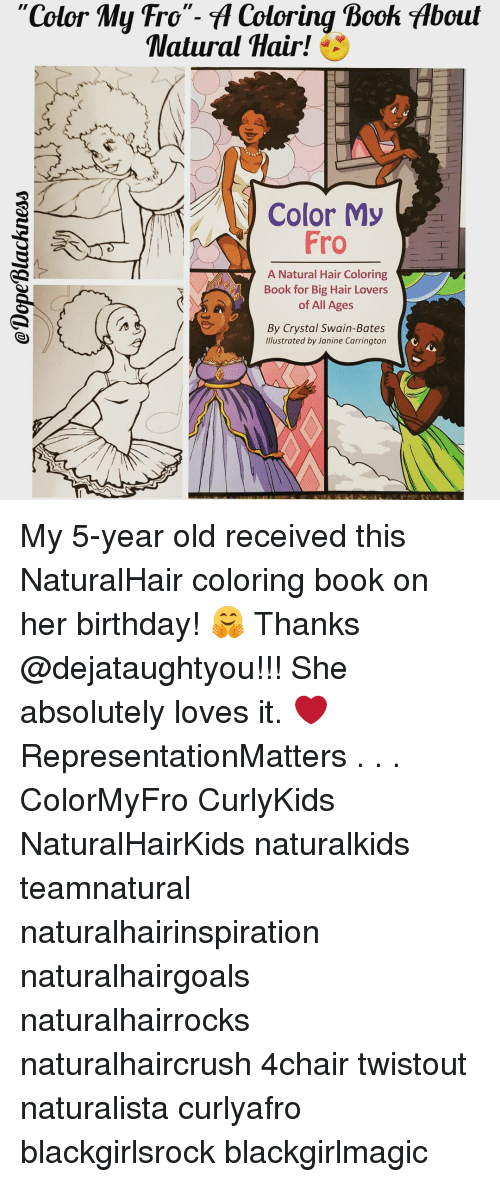 5800 Natural Hair Coloring Book Free Images