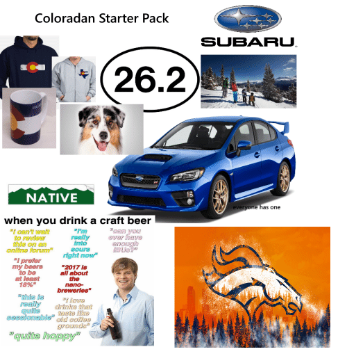 Craft Beer Starter Pack Meme