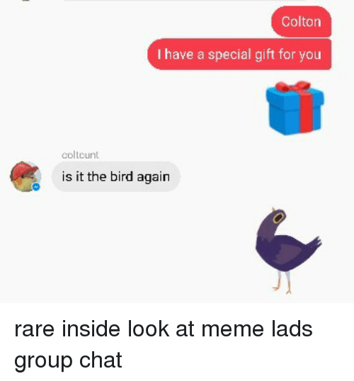 Lad chat