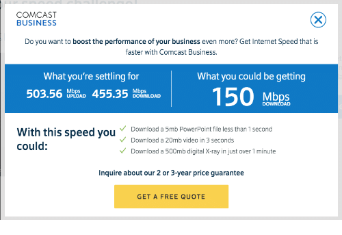 COMCAST BUSINESS Do You Want to Boost the Performance of