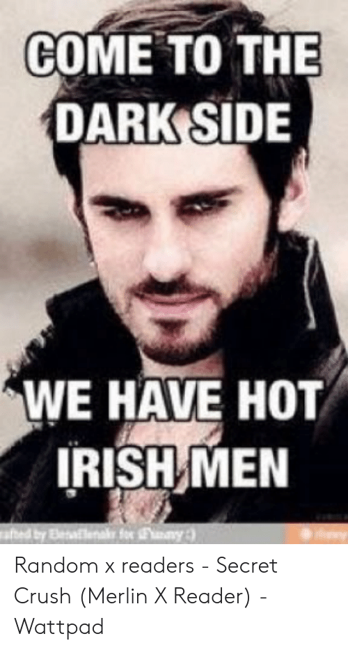 COME TO THE DARK SIDE WE HAVE HOT IRISH MEN Fo Fny Afhed by