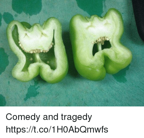 Comedy, Faces-In-Things, and Tragedy: Comedy and tragedy https://t.co/1H0AbQmwfs