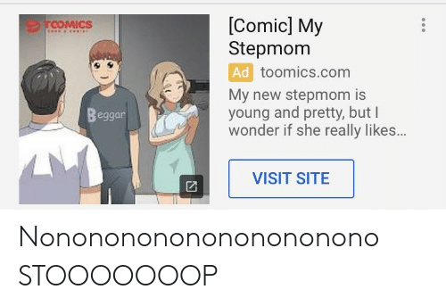 Comic My Stepmom COMICS D Toomicscom My New Stepmom Is Young and