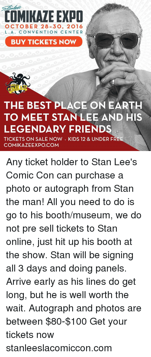 Friends, Memes, and Stan: COMIKAZE EXPO OCTOBER 28-30, 2016 L. A.