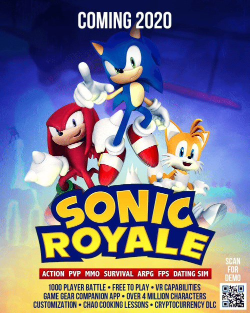 Best Arpg 2020 COMING 2020 SONIC ROYALE SCAN FOR SIM DE ACTION PVP MMO SURVIVAL
