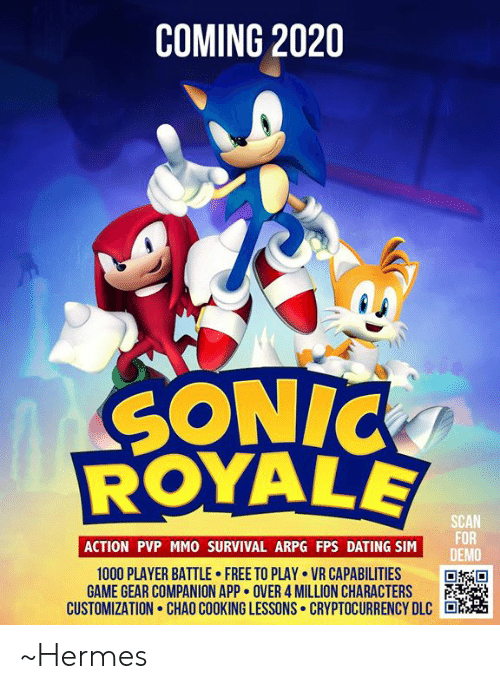 Best Arpg 2020 COMING 2020 SONIC SCAN FOR DEMO ACTION PVP MMO SURVIVAL ARPG FPS