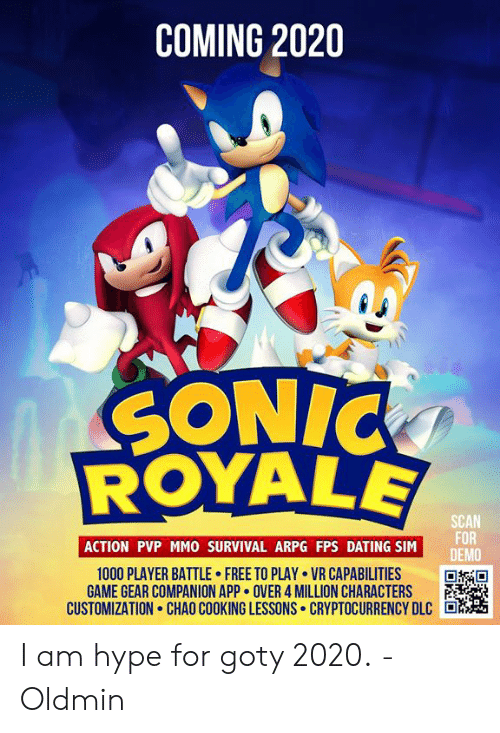 Best Pvp Mmo 2020 COMING 2020 SONIC SCAN FOR DEMO ACTION PVP MMO SURVIVAL ARPG FPS