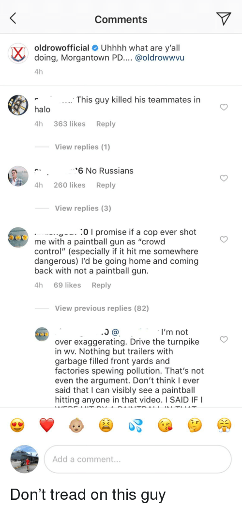 Comments Oldrowofficial Uhhhh What Are Yall Doing - 1st person paintball gun roblox