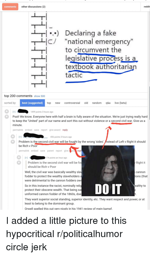 Comments Other Discussions 2 Reddit 1 Declaring a Fake