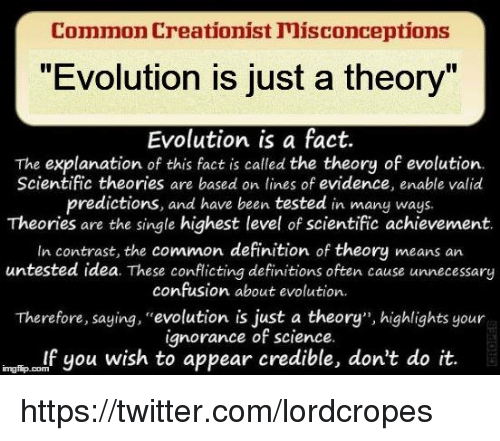 an analysis of the theory of evolution in contrast to the bible The scientific case against evolution by henry m morris, phd belief in evolution is a remarkable phenomenon it is a belief passionately defended by the scientific establishment, despite the lack of any observable scientific evidence for macroevolution (that is, evolution from one distinct kind of organism into another.