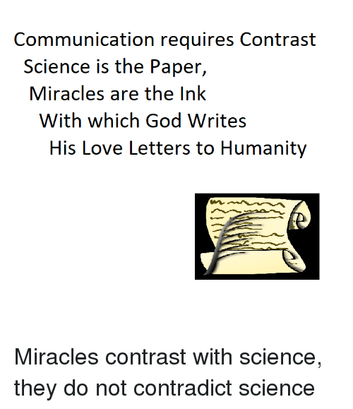 what is contrast in science