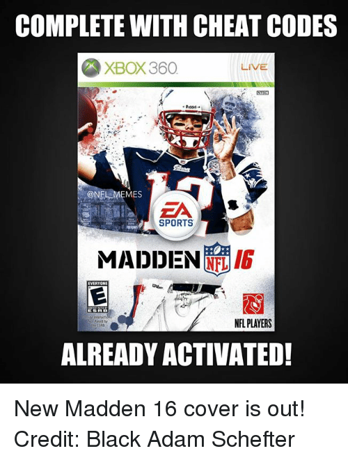 COMPLETE WITH <b>CHEAT CODES</b> XBOX360 LIVE ONFI EMES SPORTS <b>MADDEN</b> ...